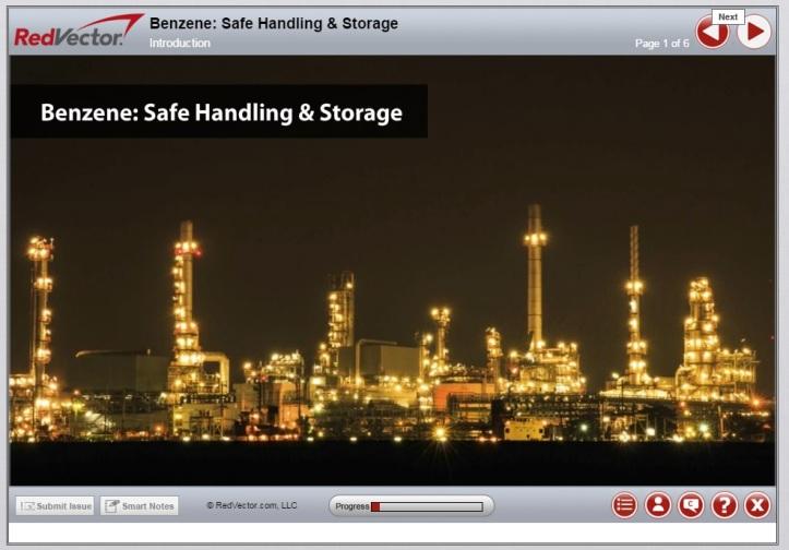 RedVector Benzene Safe Handling Course