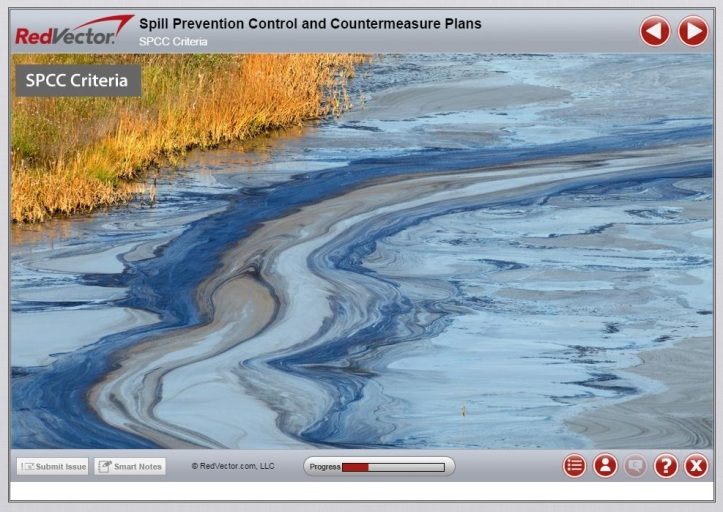RedVector eLearning Course: Oil Spill Prevention