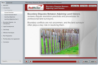 Boundary Disputes Between Adjoining Land Owners: Resolutions, Practices & Procedures