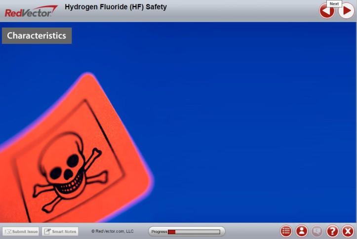 RedVector Hydrogen Fluoride Safety