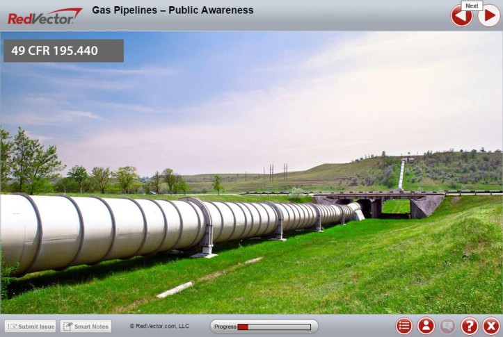 Gas Pipelines Public Awareness RedVector eLearning