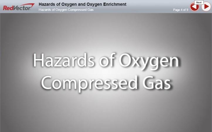 Oxygen Hazards