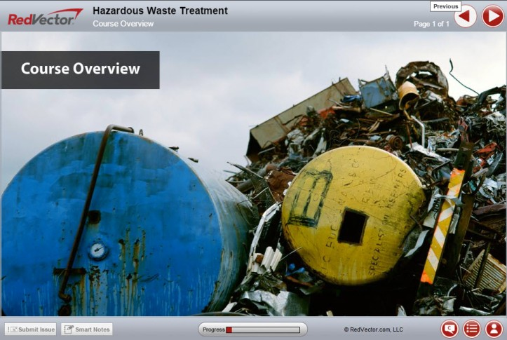 RedVector - Hazardous Waste - Treatment