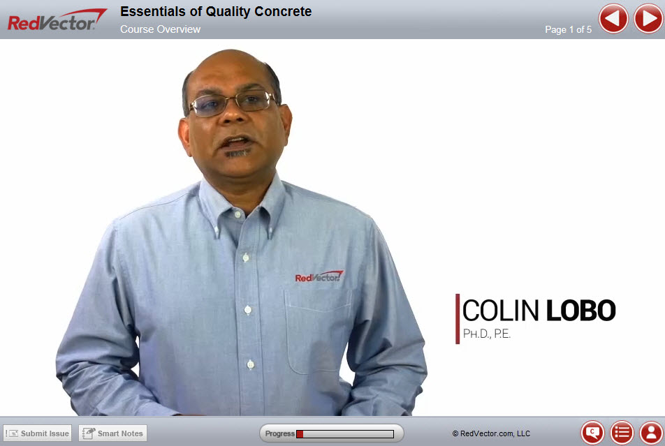 New Video Series: Mobile-Ready Concrete Courses – RedVector